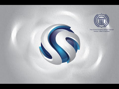 How to Designing 3D Logo in Adobe illustrator CS6 with best result and look professional