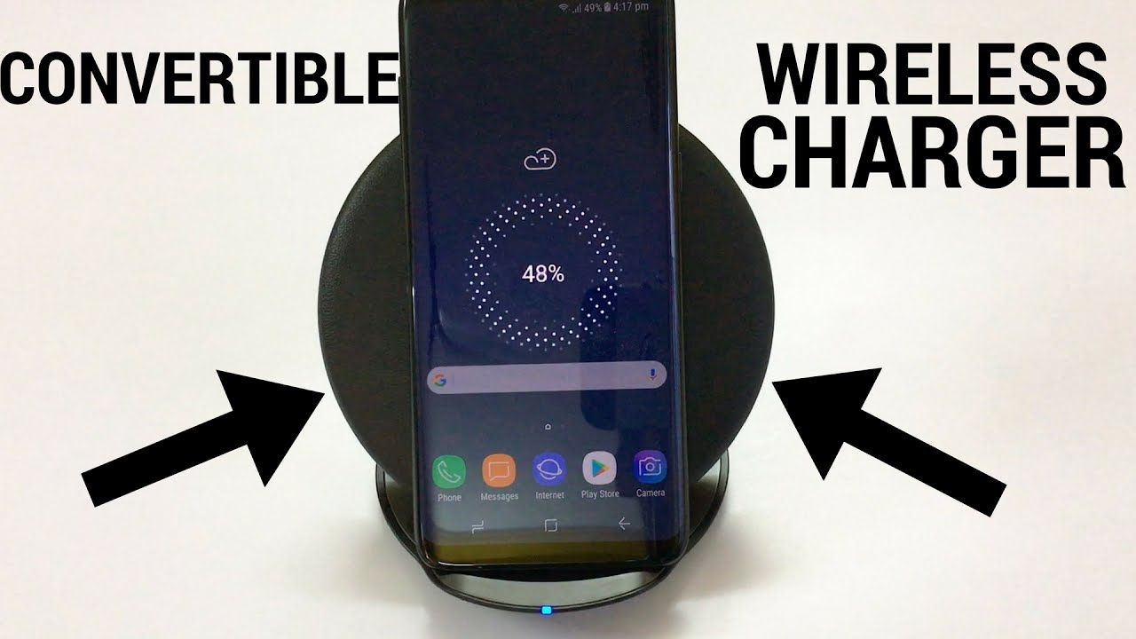 samsung convertible wireless charger fast charge youtube. Black Bedroom Furniture Sets. Home Design Ideas