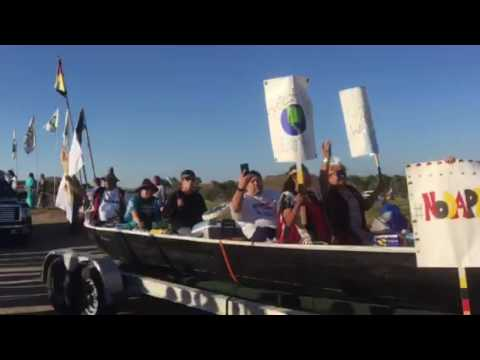 Puyallup Tribe Arrives in Standing Rock