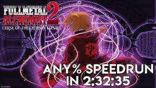 【WR】Fullmetal Alchemist 2: Curse of the Crimson Elixir Speedrun in 2:32:35 | World Record