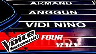 Berbahasa Arab, Kontestan Ini Gaet 4 Coaches! | FOUR YESES | The Voice Indonesia GTV 2018