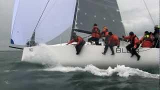 Downwind BLUR J111 during SPI Ouest 2012