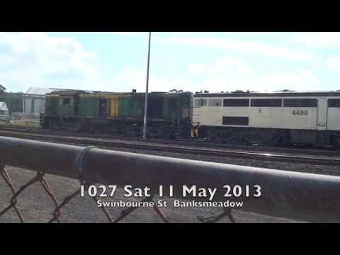 Port Botany line 2--antique locos