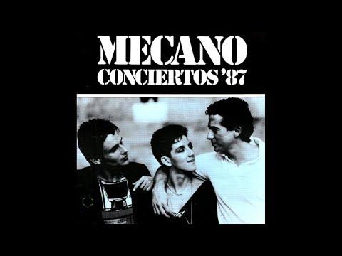 Mecano - Concierto'87: El amante de fuego