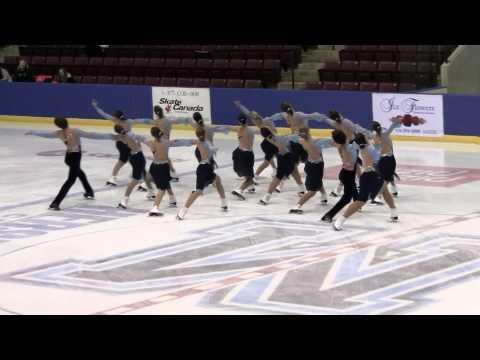 2010 Gold Ice Junior Free Program Sunday Skate Synchronized Skating Winterfest