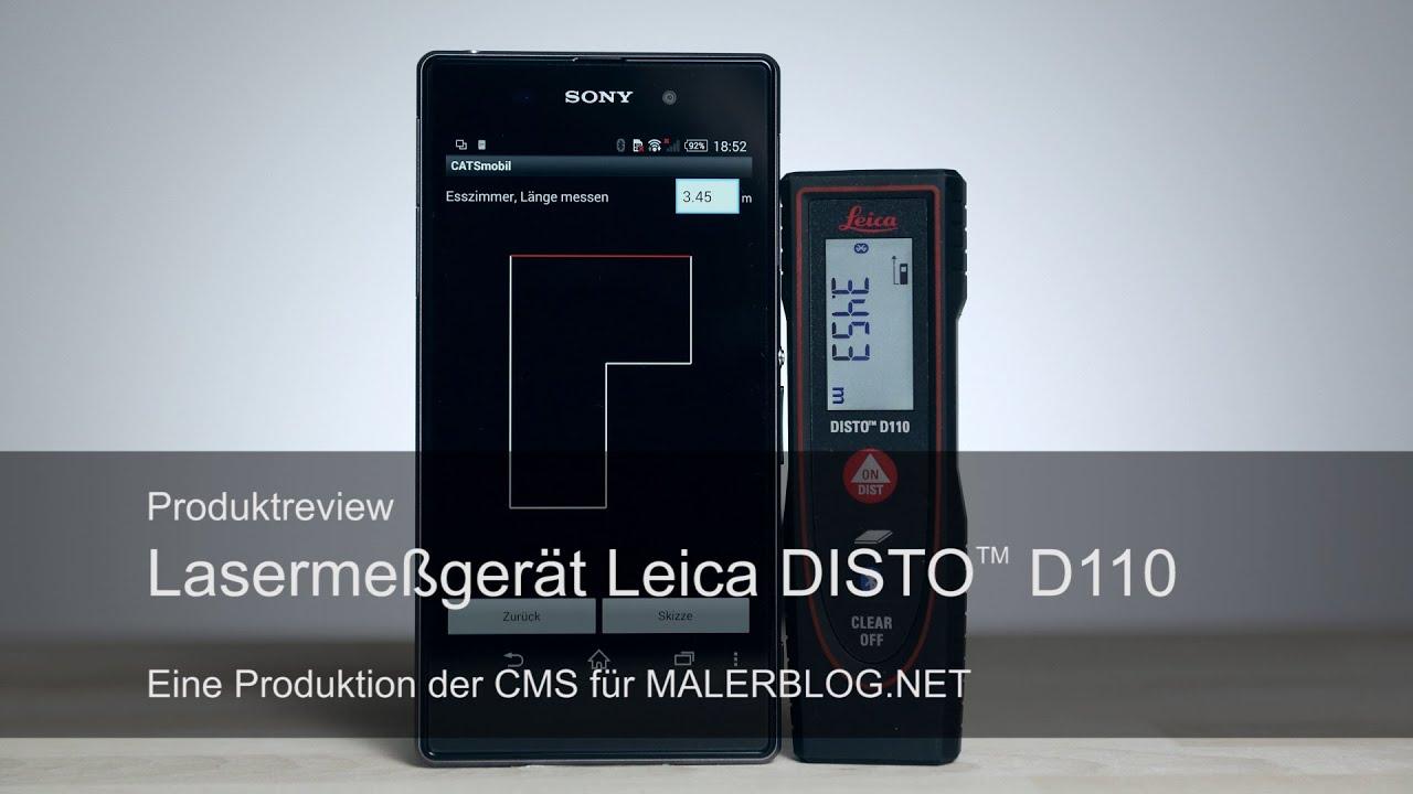 Leica Disto D2 Laser Entfernungsmesser Preisvergleich : Review aufmaß im raum mit leica disto d und catsmobil youtube