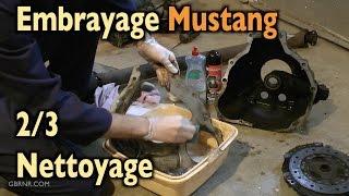 🐎 Embrayage Mustang 2/3 🛠 nettoyage 🛠