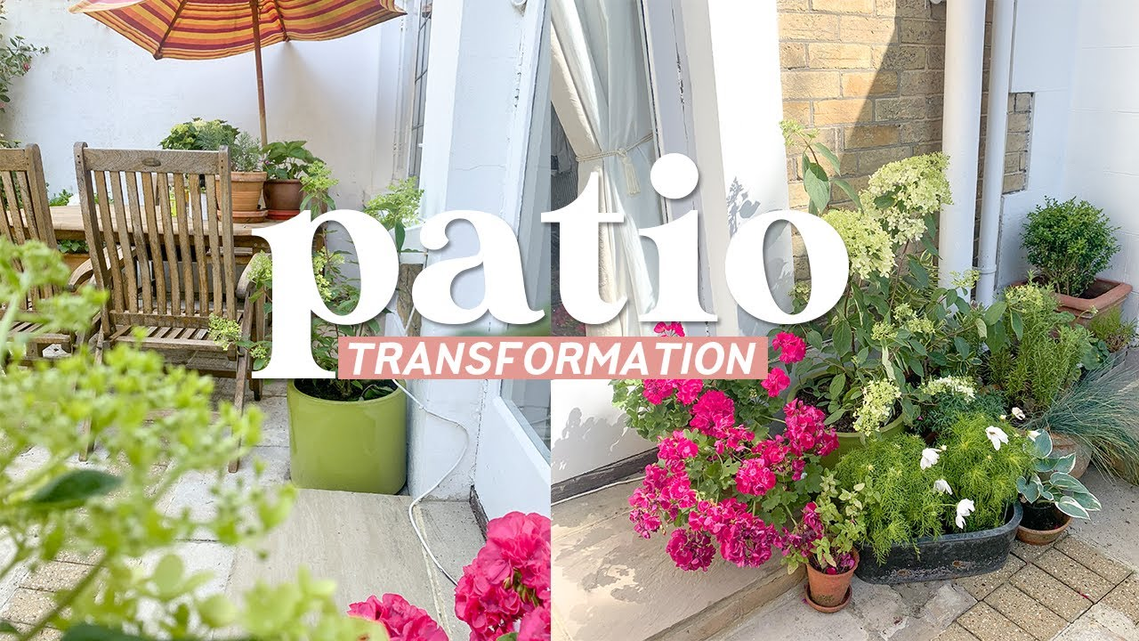 Patio Transformation Mini Makeover for my Nan 🌸Power Washing and Furniture Makeover