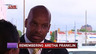 New Bethel Baptist Church pastor remembers Aretha Franklin