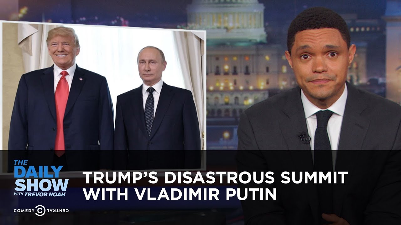 Trump's Disastrous Summit with Vladimir Putin | The Daily Show