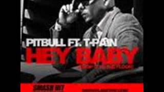 Pitbull feat. t-pain - hey baby ( dj serginho )