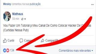 Hack De Curtidas Brasileiras Para Facebook - Novo Método 2017 - 100% Funcional
