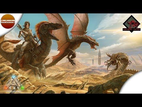 Ξεκινάμε νέα σειρά! Scorched Earth Primal Fear. ARK Scorched Fear E1 (Greek gameplay)