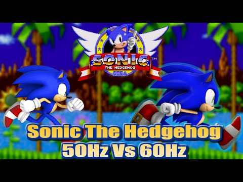 Sonic 1 - 50Hz vs 60Hz (PAL vs NTSC) - An informative comparison