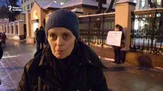 Пикеты в поддержку Сергея Мохнаткина, избитого в колонии