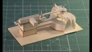Working paper model of steam engine