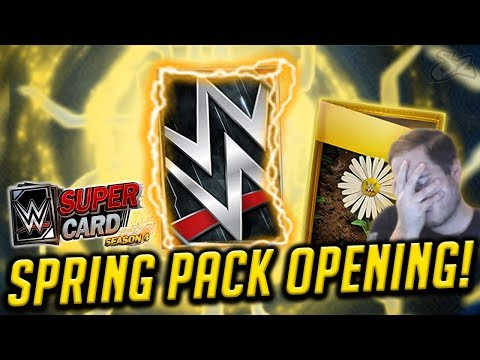 TALE OF THE TAPE! BIG SPRING FUSION PACK OPENING! | WWE SuperCard S4