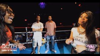 PHARA FUNERAL vs QB BLACK DIAMOND QUEEN OF THE RING (Hosted by BABS BUNNY) #NHB