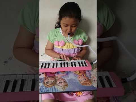 Lagu membuang sampah menggunakan pianika