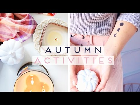 Things to do When You're Bored in Fall / Autumn 2016 + Inkbox 2 Week Tattoo Review