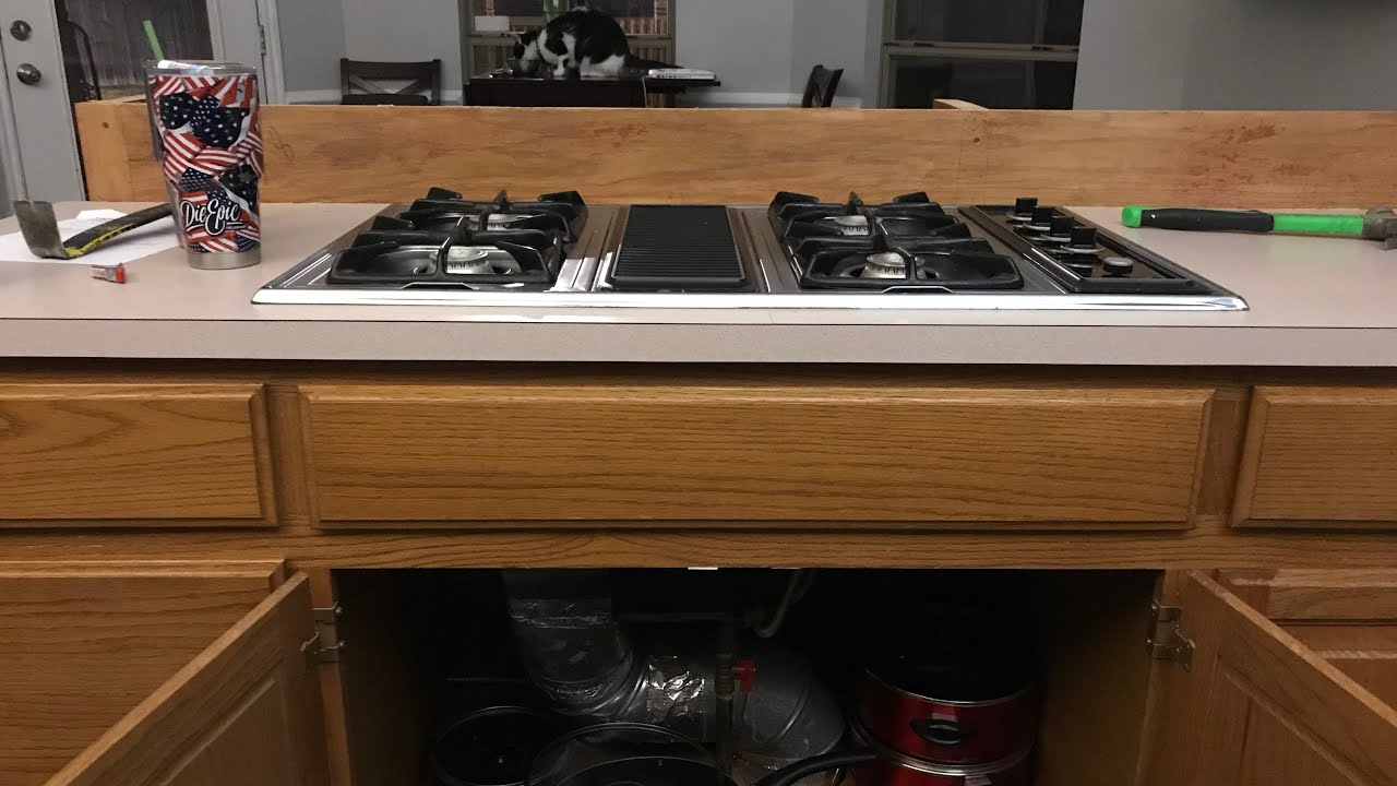 How To Remove Downdraft Gas Cooktop