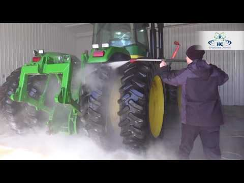 Washing Farm Equipment In Under 25 Minutes   No Brushing   Hydro-Chem Systems
