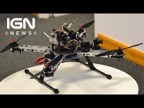 Quadcopter Drone Successfully Piloted by Digital Bee Brain - IGN News