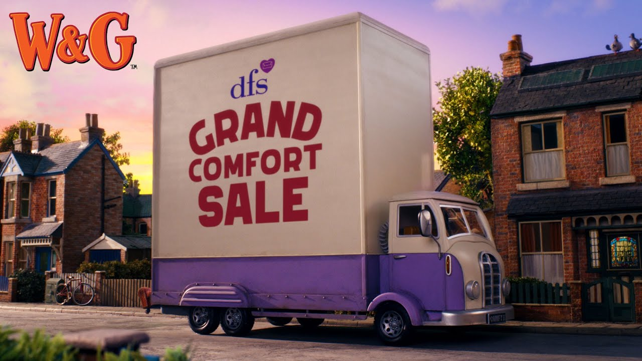 DFS Grand Comfort Sale - Wallace & Gromit