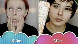 хэллоуин   eeoneguy макияж урок by anastasiya shpagina