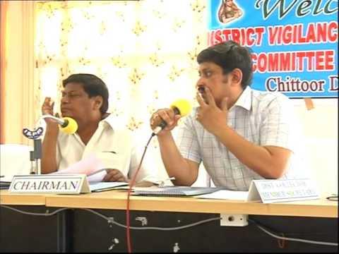 CTR DIST 31 5 16 Chittoor  dist Vigilance & Monitoring committee meeting