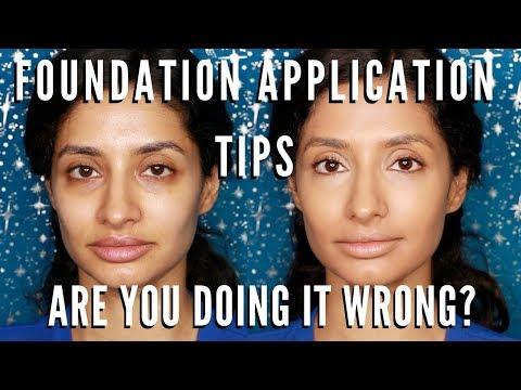Best Foundation Apllication Tips & Tricks   Are you doing your Makeup WRONG?   mathias4makeup