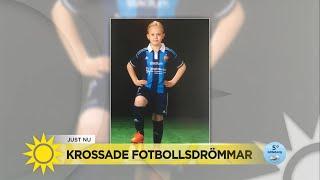 9-åring petades inför hela fotbollslaget: