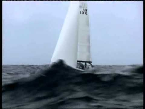 Carey Olsen Yacht Race Guernsey to Jersey 2012 Big Swells.
