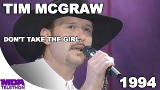 "Tim McGraw - ""Don't Take The Girl"" (1994) - MDA Telethon"