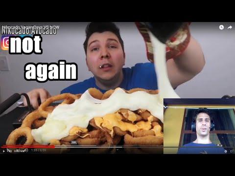Nikocado Avocado - Vegan Vs Now - Video Breakdown