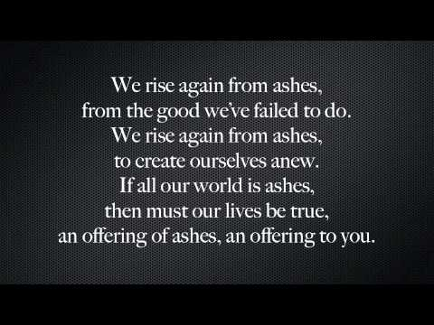 Ashes & Fire Lyrics