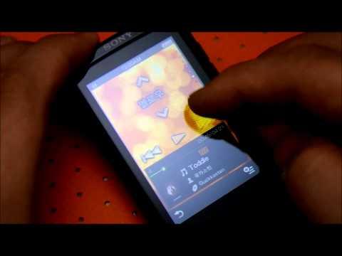 [SONY] A860 MP3 Player : SenseMe UI