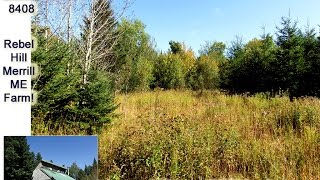 Maine Farm Land, Off Grid Aroostook County Real Estate | MOOERS #8408