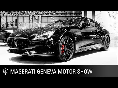Maserati at the 2018 Geneva Motor Show