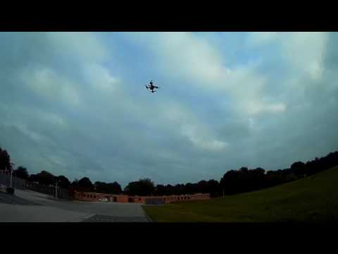 Second test flight with the JJRC JJPro P200, after changing PID settings