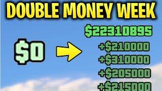 GTA Online: DOUBLE MONEY WEEK! 2x GTA$ on the BEST Ways to Make Millions