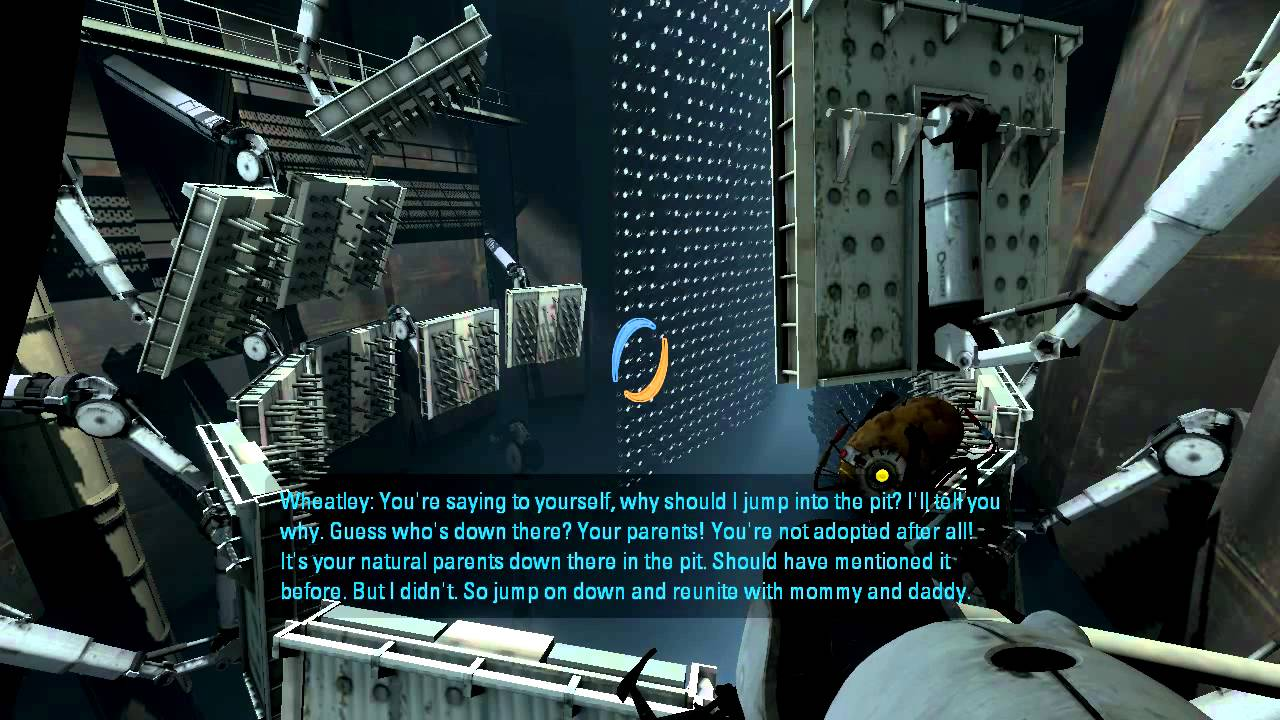 Portal 2 Glados And Wheatley S Hilarious Quotes