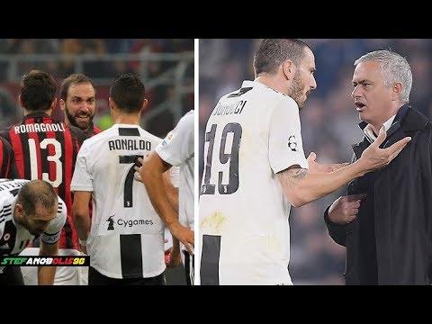 Juventus F.C. ⚽ Best Fights & Angry Moments 2018\2019 ⚽ ft C.Ronaldo,Dybala,Bonucci.... ⚽ HD #Juve thumbnail