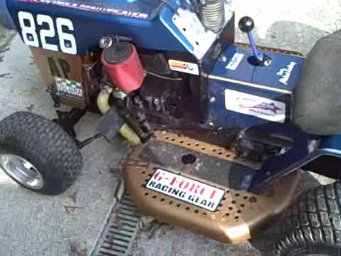Racing Lawnmower For Sale - YouTube