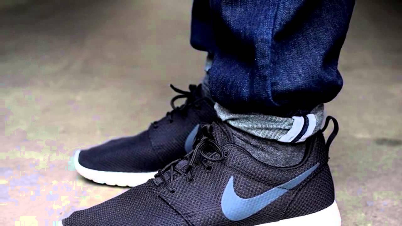 Прекрасные модные кроссовки Nike Roshe Run Купить кроссовки на .