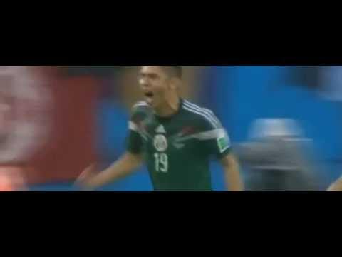 Oribe Peralta Goal ~ Mexico vs Camerun 1 0 ~ World Cup Brazil 13 06 2014
