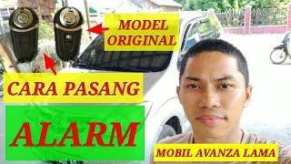 Gambar cover cara pasang alarm mobil avanza