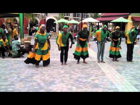 Traditional Jamaican Dance - Royal Carribean Allure of the Seas
