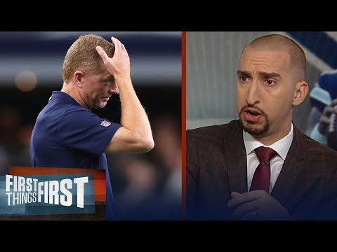 Nick and Cris react to the Dallas Cowboys' Week 9 MNF loss to the Titans | NFL | FIRST THINGS FIRST