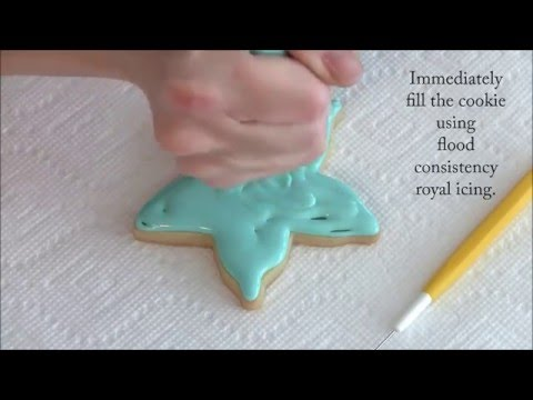How To Decorate A Starfish Cookie By Emma's Sweets